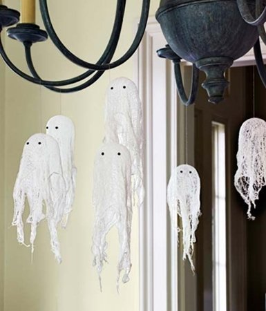 cheese cloth ghost - countryliving.com