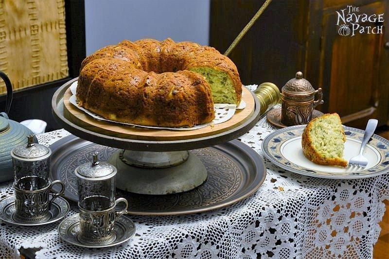 Turkish Savory Cheesecake (Peynirli Kek)   TheNavagePatch.com