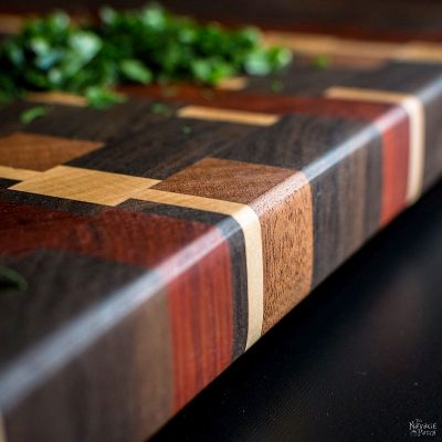 The Story of a Board: an End Grain Cutting Board Tutorial