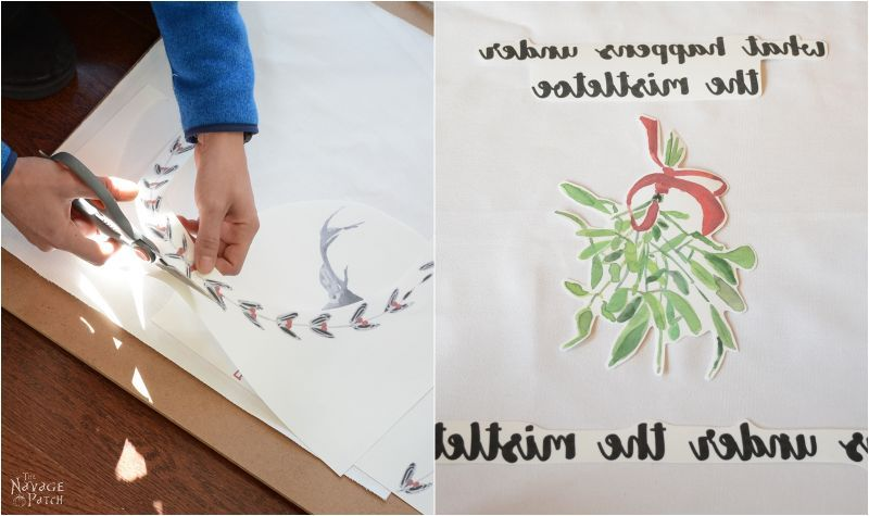 Image Transfer to Fabric   How to transfer printed image to fabric   Step-by-step heat transfer tutorial   Iron on image transfer   TheNavagePatch.com