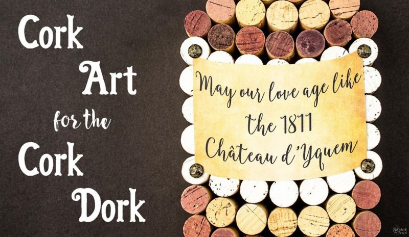 Cork Art for the Cork Dork - The Navage Patch