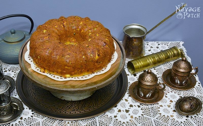 Turkish Savory Cheesecake (Peynirli Kek) | TheNavagePatch.com