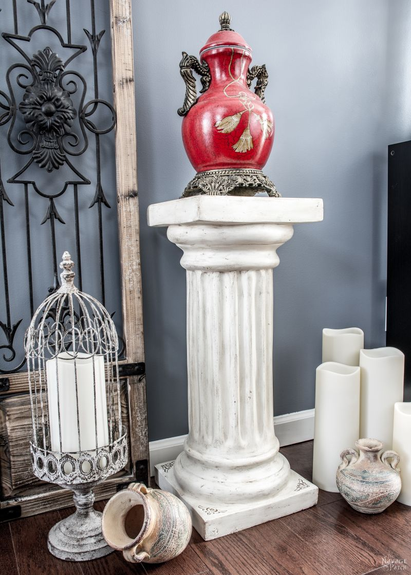 Column Pedestal Makeover The Navage Patch