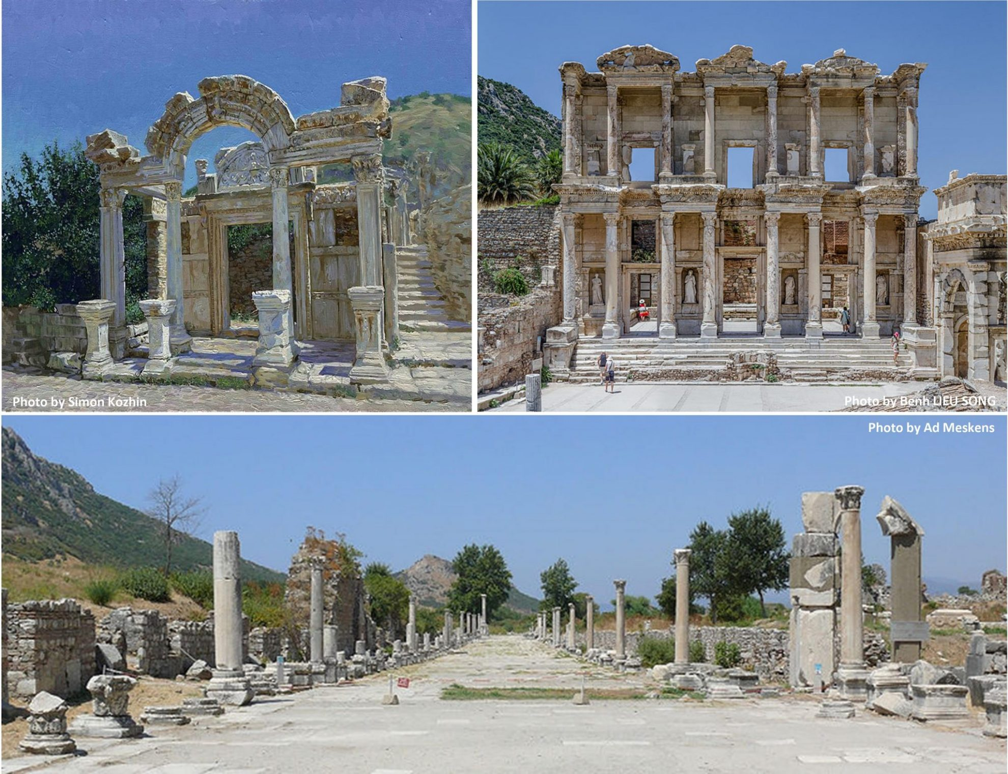 Ephesus Ruins by Wikipedia