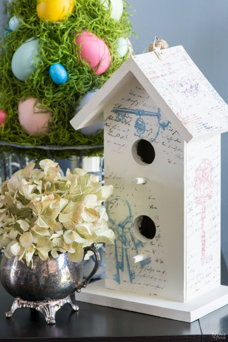 Cheerful Spring Wreath and Tree   Spring and Easter wreath   How to make a wreath   Colorful Easter eggs and moss wreath and topiary   How to make a Easter topiary   Easter and spring home decor   Handmade wreath and topiary   TheNavagePatch.com