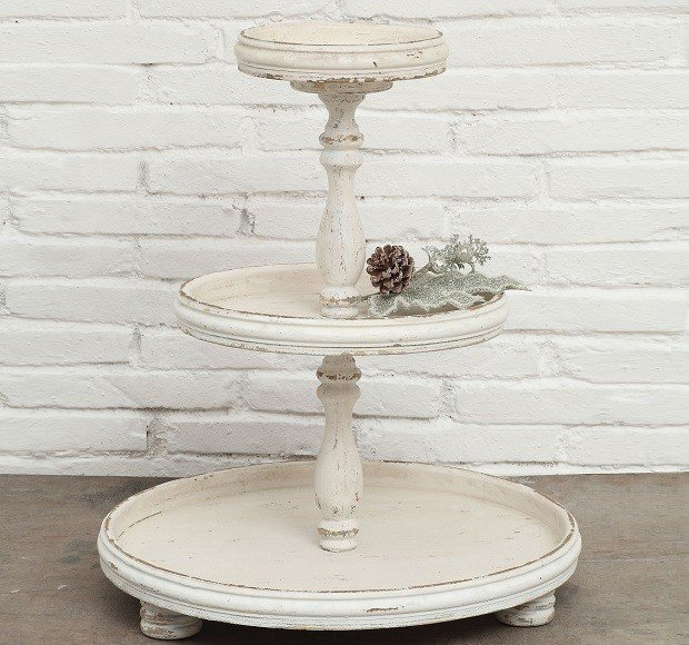 Tiered stand - AntiqueFarmHouse