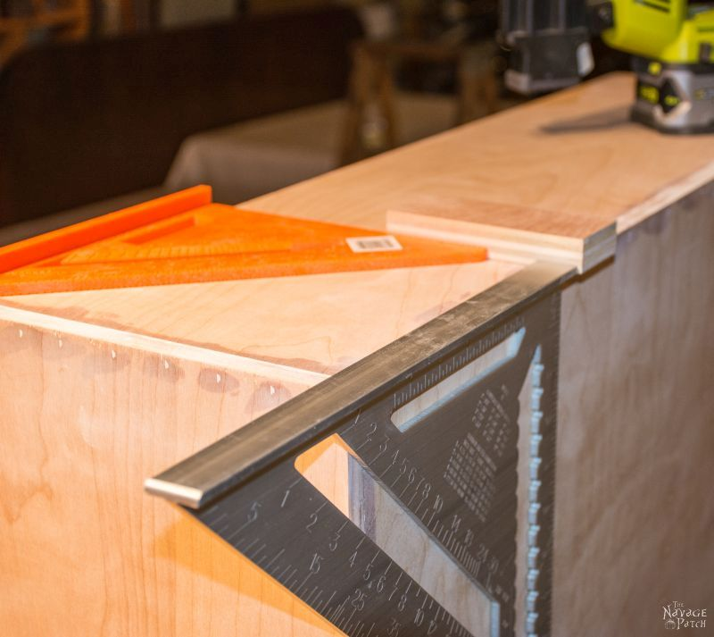 DIY Rolling Storage | DIY pull-out kitchen shelves | DIY storage shelves with casters | Step-by-step cabinetry tutorial | DIY kitchen organization and small space organization | #TheNavagePatch #organization #diy #Kitchenshelves #Woodworking #diyfurniture #cart #HowTo #Tutorial | TheNavagePatch.com