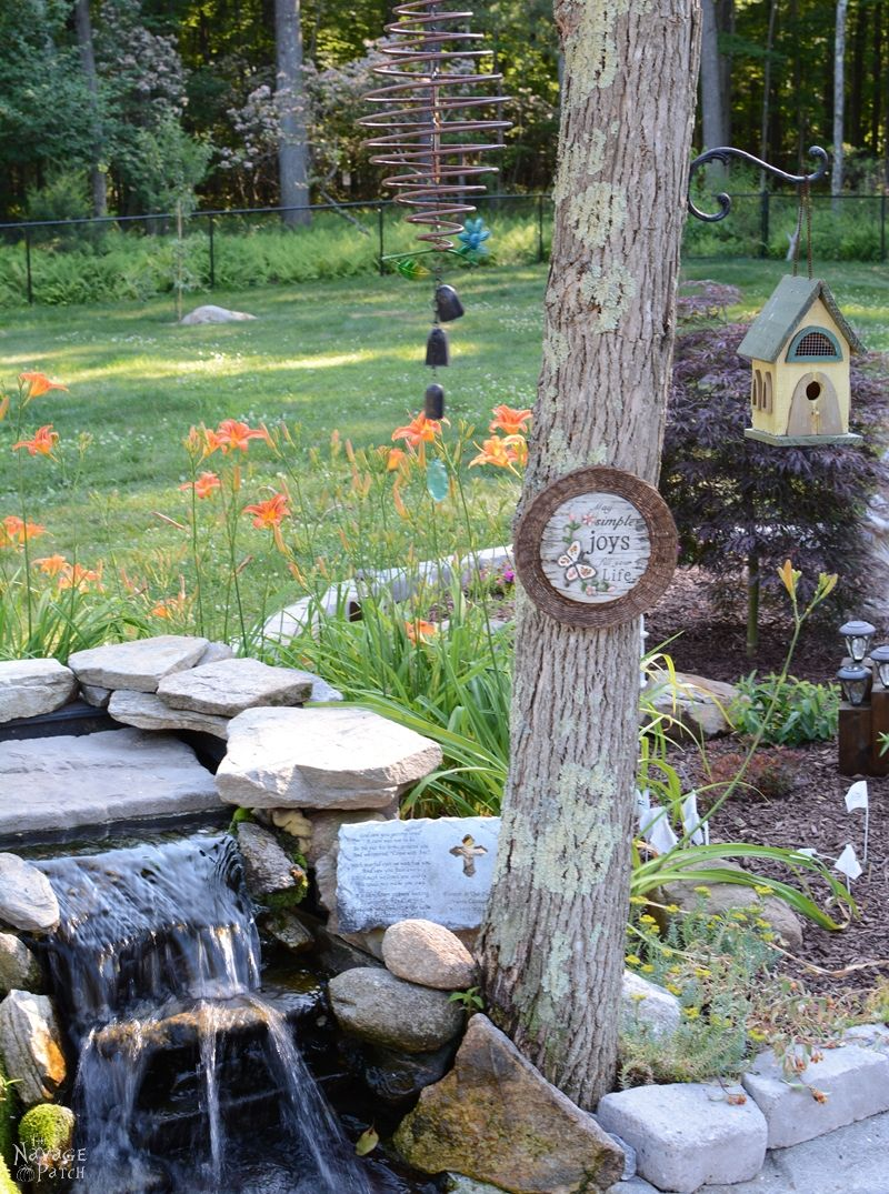 DIY Garden Decor - The Navage Patch