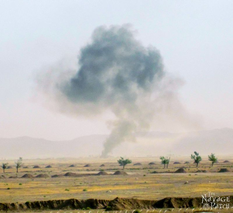 Afghanistan, Part 9: Incoming! | TheNavagePatch.com