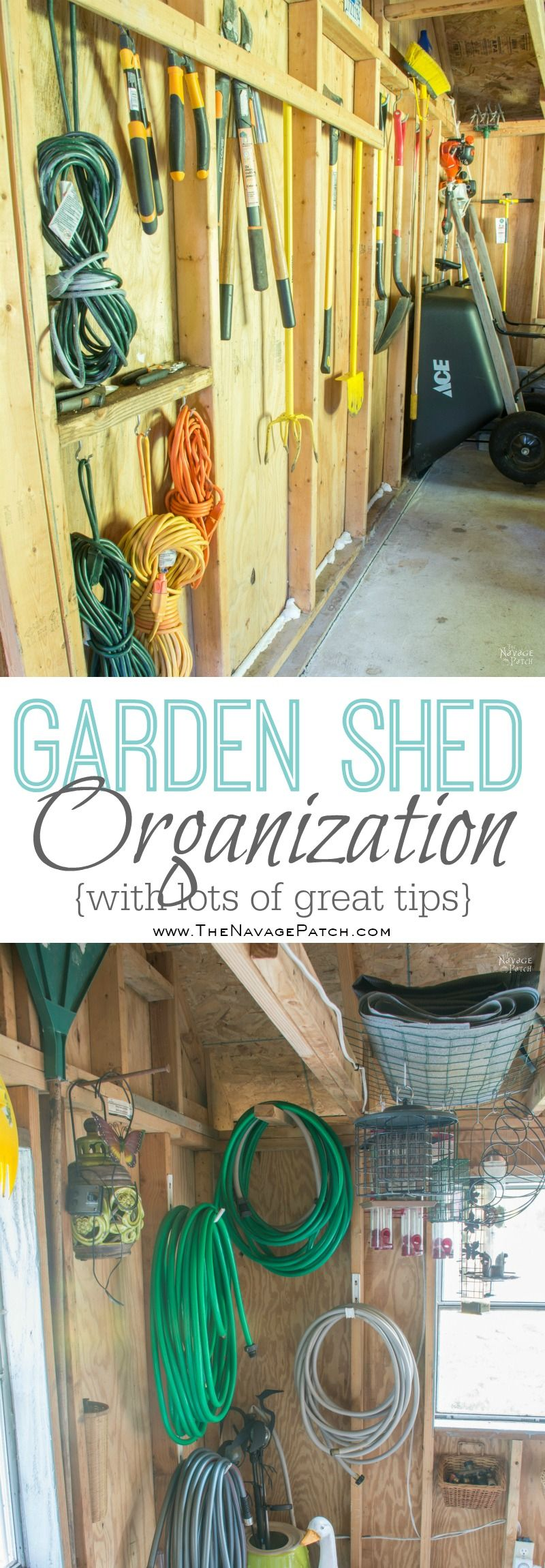 Garden Shed Organization Ideas And