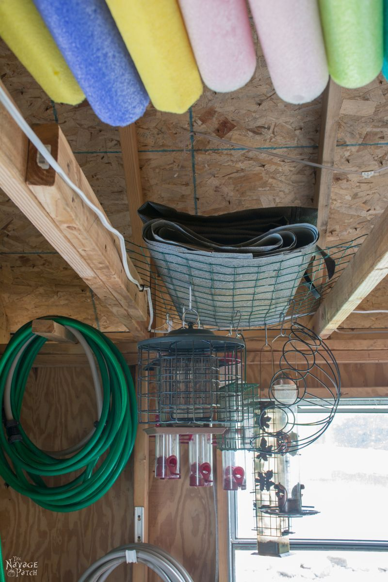 Garden Shed Organization   Creating a Rodent Proof Shed   Simpe and Easy #garden #shed #organization and #cleaning   TheNavagePatch.com