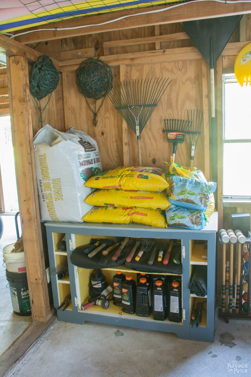 Garden Shed Organization Creating A Rodent Proof Simpe And Easy
