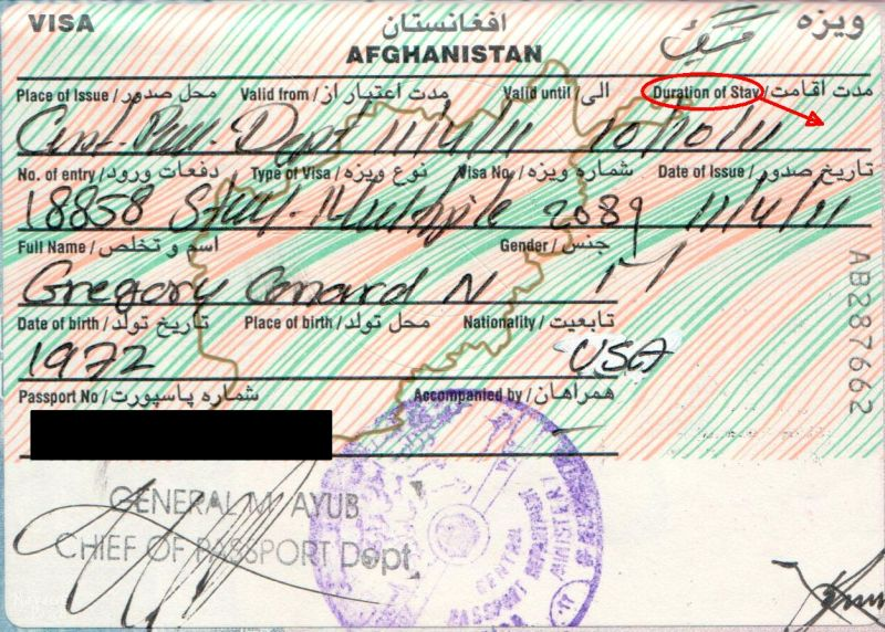 Afghanistan Part 11 Departure   TheNavagePatch.com
