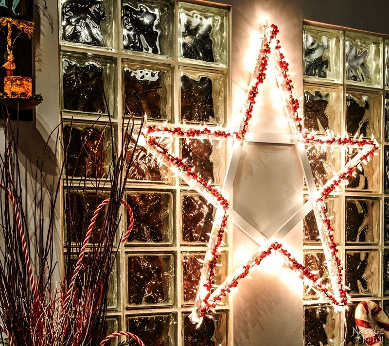 diy lighted christmas stars diy christmas decoration festive diy home decor upcycled holiday