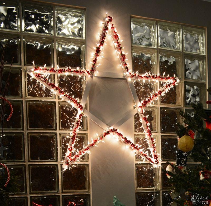 Diy Christmas Light Decoration Ideas: DIY Lighted Christmas Stars