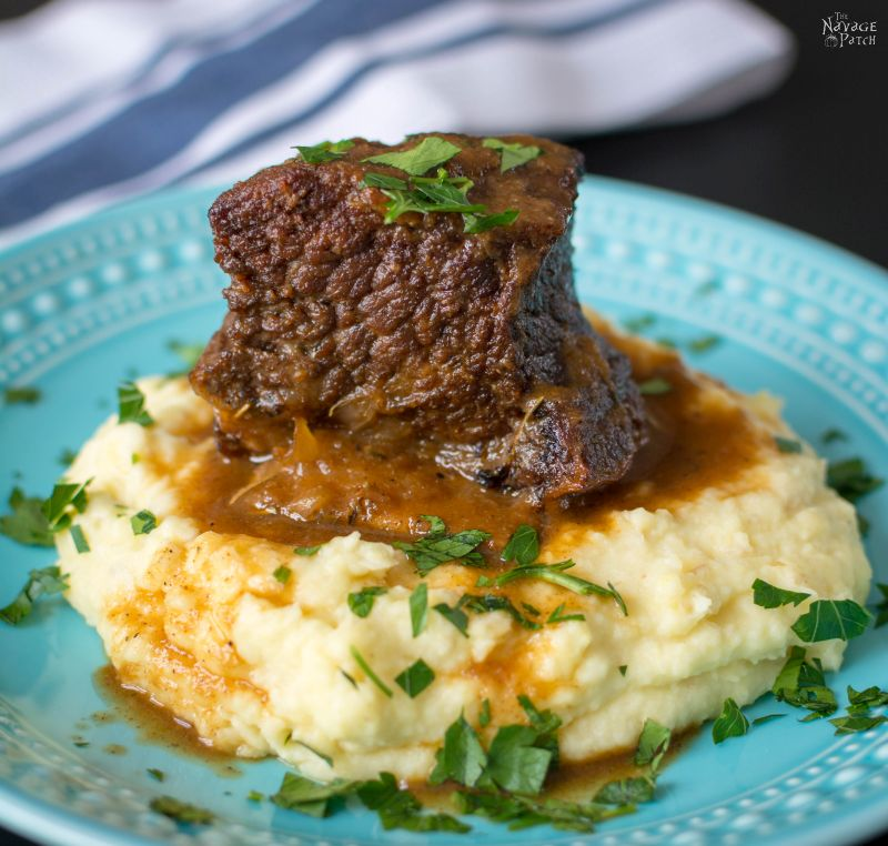 Quick and Easy Short Ribs | TheNavagePatch.com