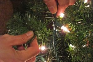 Faux Christmas Tree Repurposed Three Ways | DiY outdoor Christmas garland | DiY clip-on Christmas swags | DiY 8-foot faux Alpine Christmas tree | How to make a faux Christmas tree | DiY Christmas home decor | Upcycled holiday decoration | Cheap & easy crafts | Repurposed Christmas tree | TheNavagePatch.com