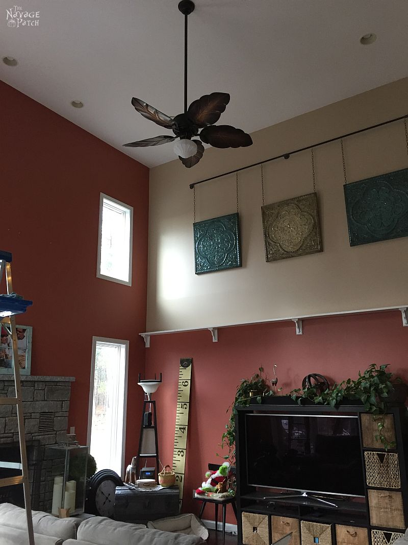 The Living Room Makeover Part 2 Two Fans and a Paint Job The
