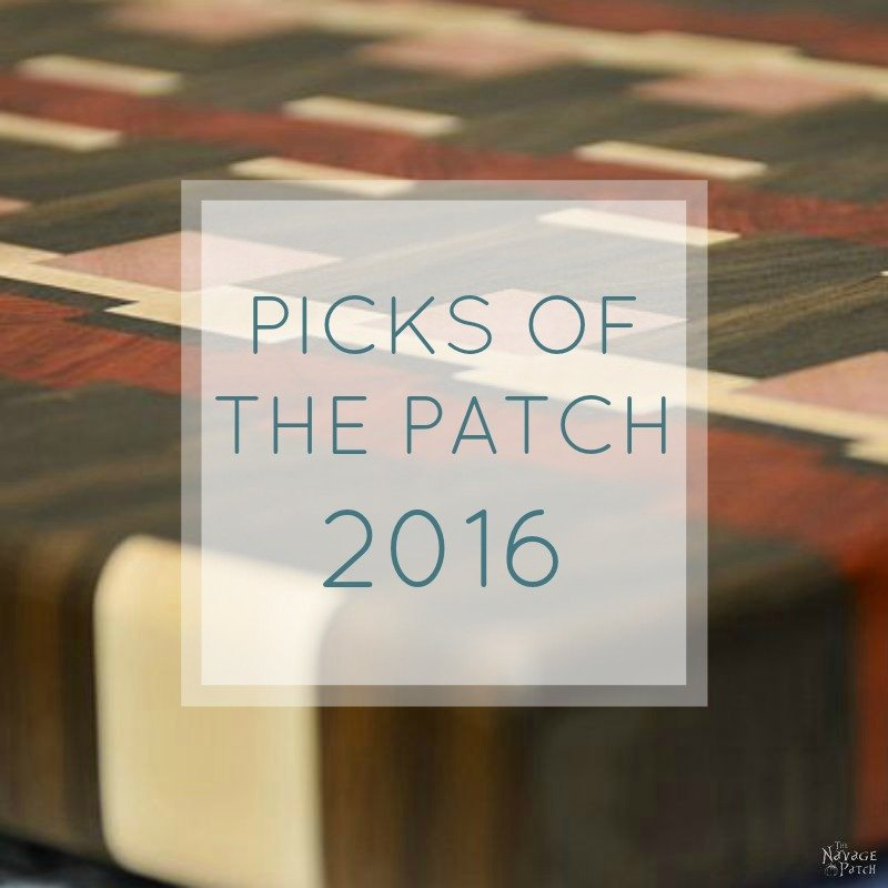 Picks of the Patch 2016 | The Navage Patch Best of 2016 | #TheNavagePatch #Bestof #BestDIY #SimpleDIY #FreePrintables | www.TheNavagePatch.com