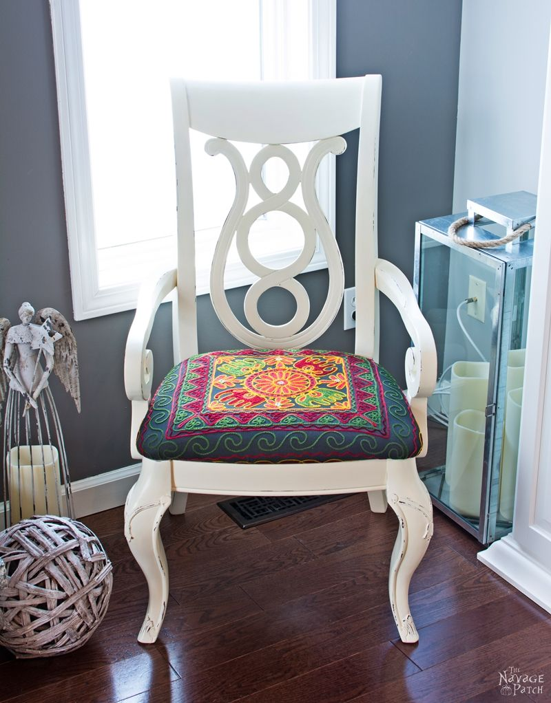 Accent Chair Makeover The Navage Patch