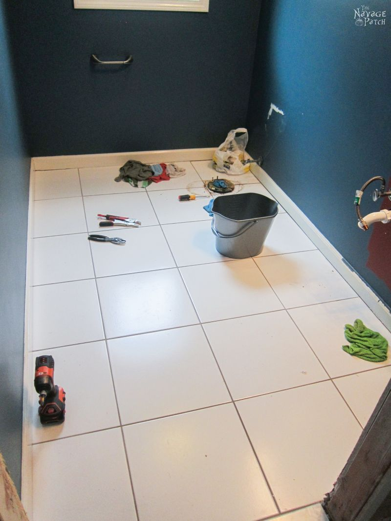 Guest Bathroom Renovation Part 1 Tile Removal The