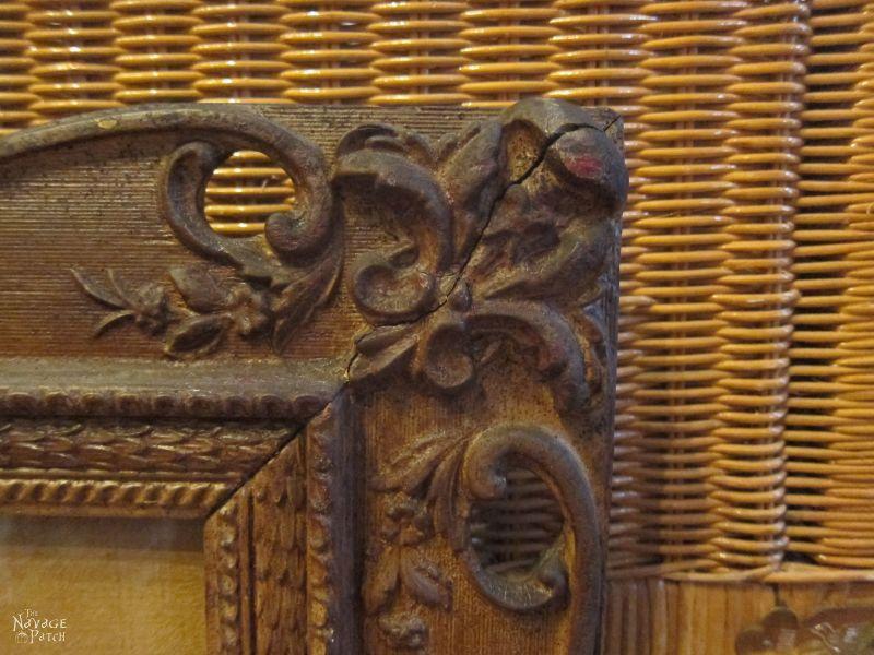 Anthropologie inspired storage cabinet | DIY storage cabinet | Upcycled picture frame | DIY chalk paint recipe | Anthropologie knockoff storage cabinet | DIY Storage ideas | #TheNavagePatch #diy #organization #storage #anthropologie #upcycled #repurposed #chalkpaint #knockoff | TheNavagePatch.com