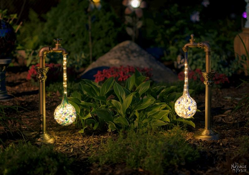 Diy Waterdrop Solar Lights Step By Tutorial For