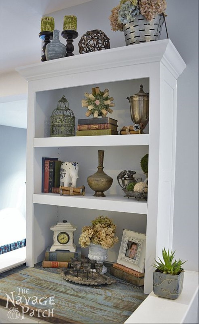 Filling The Void: DIY Built-in Bookcase | A step-by-step Built-in Tutorial | Diy Cabinetry and woodworking | Easy diy furniture | Home decor and organization | #organization made easy with #diy #builtin | #cabinetry and #woodworking #tutorial | TheNavagePatch.com