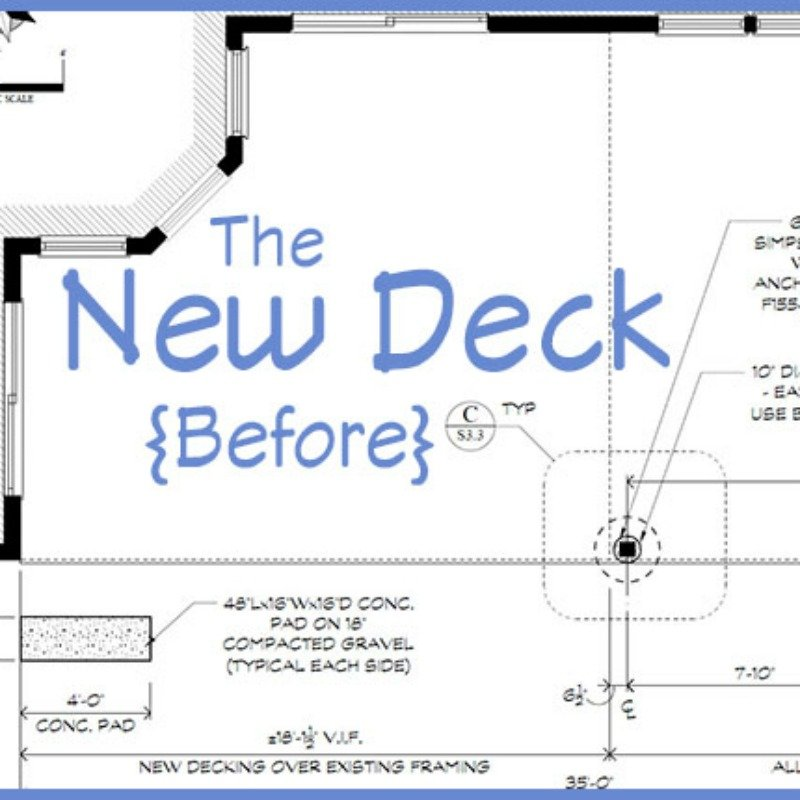 The New Deck   Trex Deck design ideas   Things to consider when choosing a decking material   How to find a deck contractor   Why we chose composite decking   Composite deck vs pressure treated wooden decks   Tips on Home Depot's pro desk   How to get great discounts at Home Depot's pro desk   How to plan a new deck   How to design a deck  Trex Deck Vintage Lantern and Spiced Rum   Guardrails vs deck benches   A deck before and after   TheNavagePatch.com