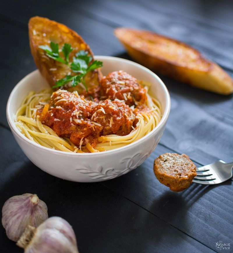 Perfect Meatballs in Red Sauce | Authentic Italian Meatballs | Spaghetti Sauce | The Best Meatballs | Authentic Italian Red Sauce | Spaghetti and Meatballs | Pecorino Romano | TheNavagePatch.com