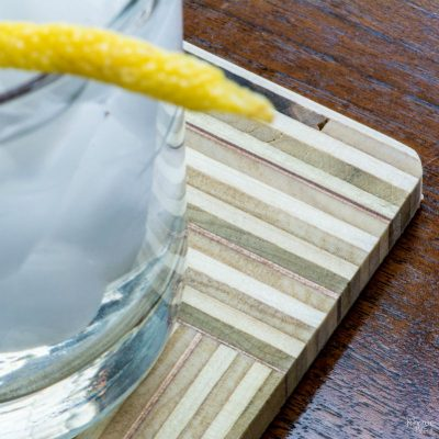 DIY Birch Plywood Coasters