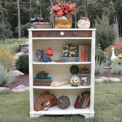 Castaway Bookcase Makeover