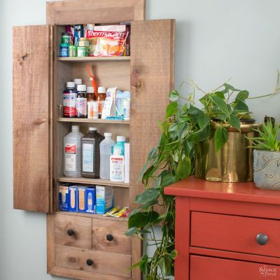 Space Hacker: DIY In-Wall First Aid Cabinet