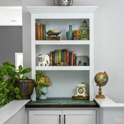 Filling the Void: DIY Built-in Bookcase