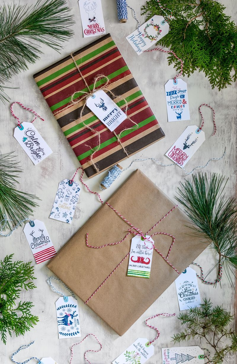 35 Free Printable Christmas Gift Tags| Free Printable #Christmas #GiftTags | Easy gift wrapping ideas | #TheNavagePatch #easydiy #Christmas #FreePrintable #DIY #Holidaydecor #Free #DIYChristmas #Christmascrafts #DIYGifts #Gifttags #Holidays | TheNavagePatch.com