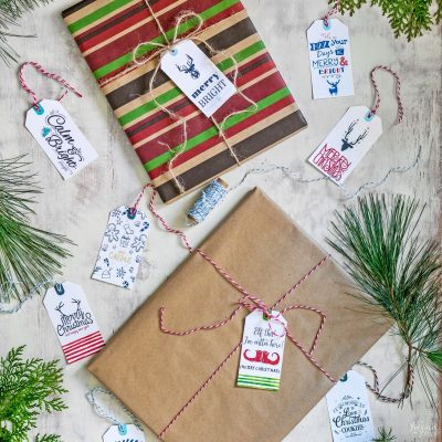 More Free Printable Christmas Gift Tags