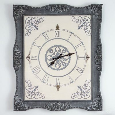 Ornate Frame to Wall Clock