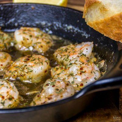 Shrimp, Garlic & Butter - Turkish Style! (Tereyağlı Karides) | TheNavagePatch.com