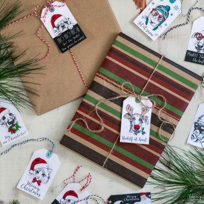 The Cutest Christmas Gift Tags Set (Ever!)