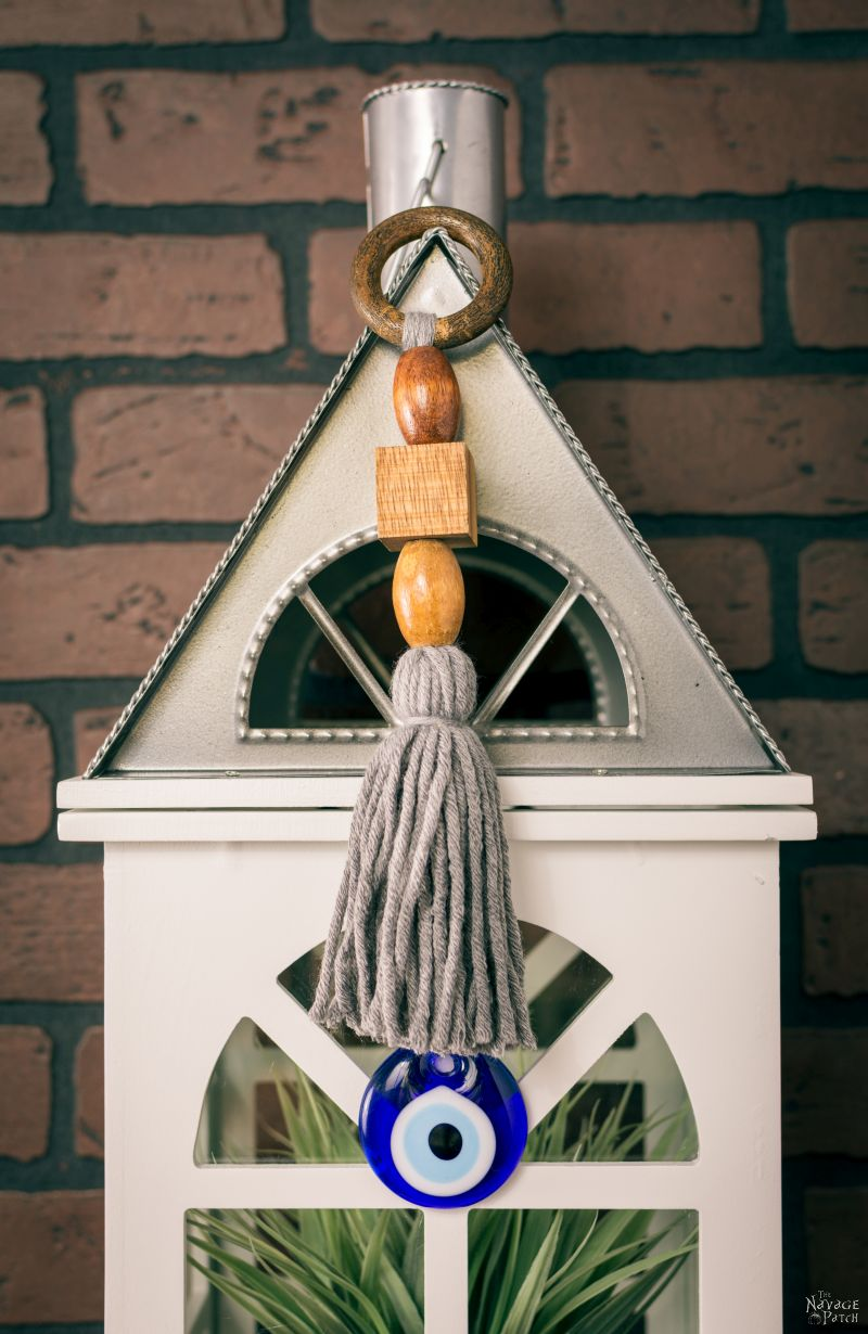 DIY Leather and Yarn Tassels - The Navage Patch