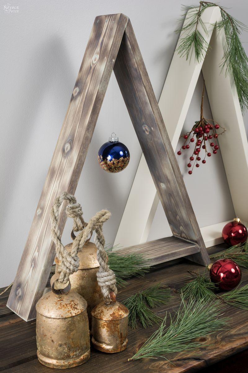 Wood Christmas Tree.Diy Wooden Minimalist Christmas Tree The Navage Patch