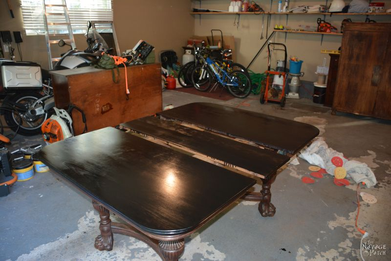 A Good Idea Gone Bad: The Antique Victorian Dining Table that Almost Was | The Navage Yaps | Makeover Fails | TheNavagePatch.com