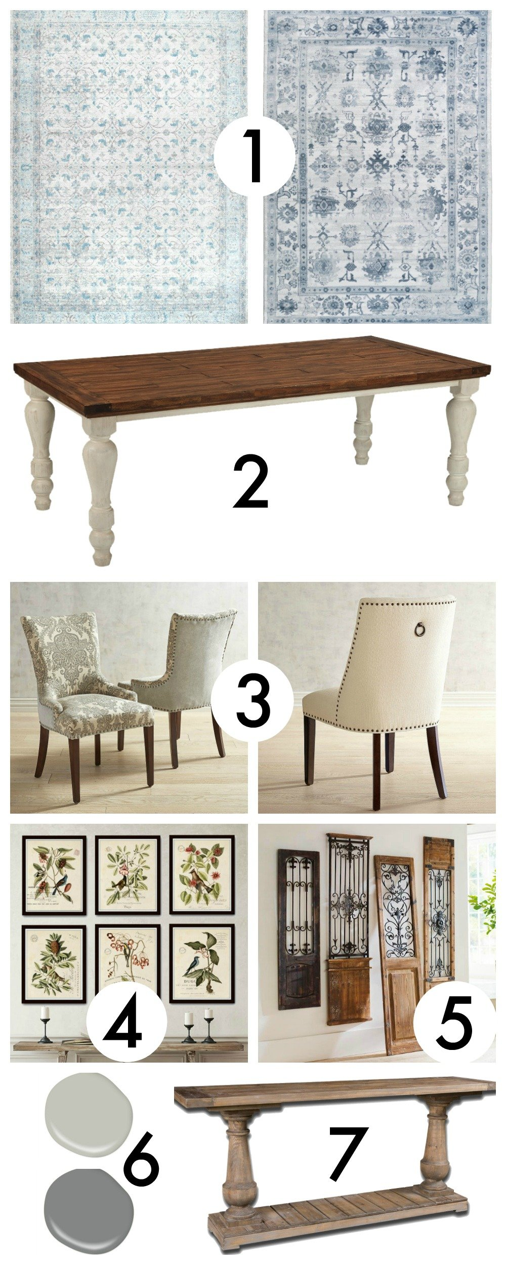 Dining Room Makeover Plan | How to create a moodboard | How to plan a room makeover | Before & After | TheNavagePatch.com
