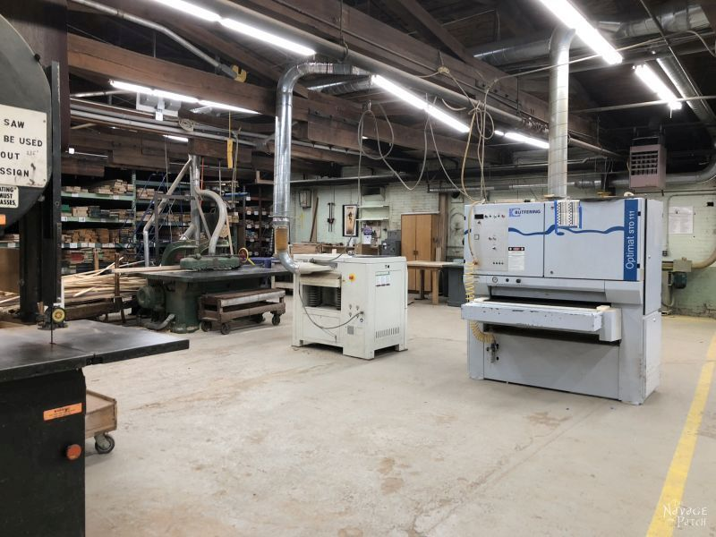 They're not just a wood store, they are a full-service large-scale wood shop, too. Every time I go there, I get a wicked case of machine envy.