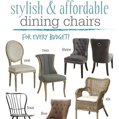Dining Room Decor Tips and Inexpensive Dining Chairs