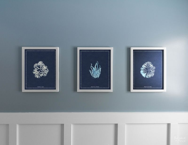 Bathroom Wall Art and Free Printables - The Navage Patch