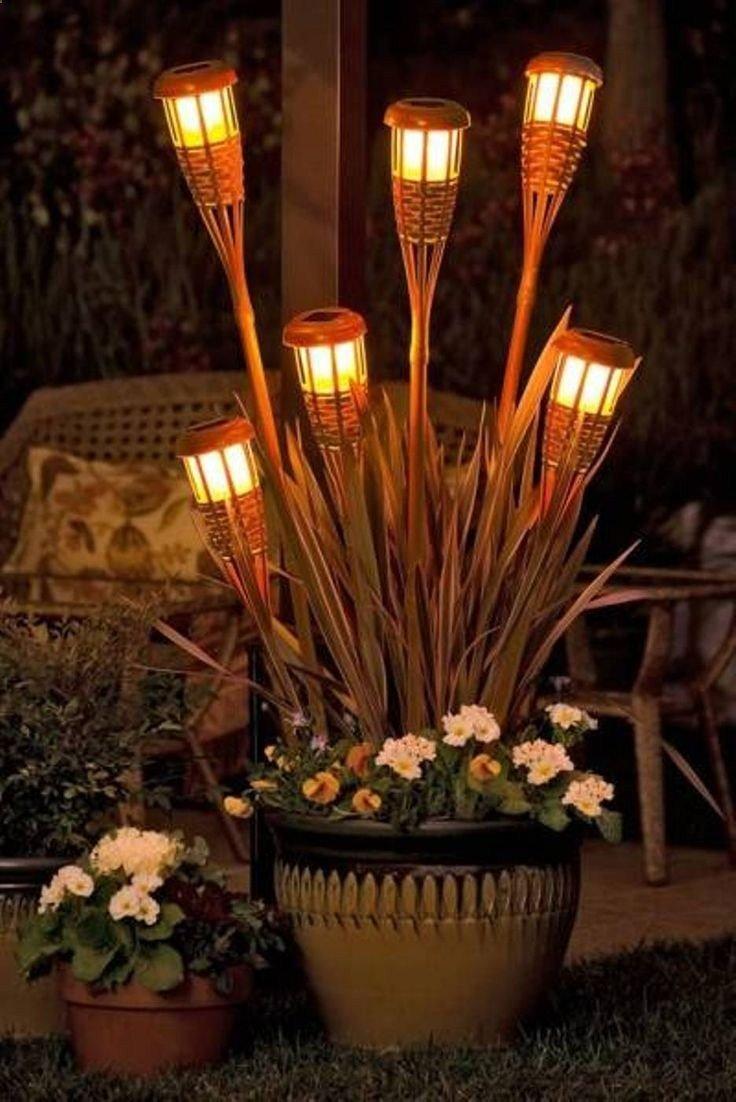 Creative and easy DIY outdoor lighting | DIY outdoor solar lights | DIY landscape lighting