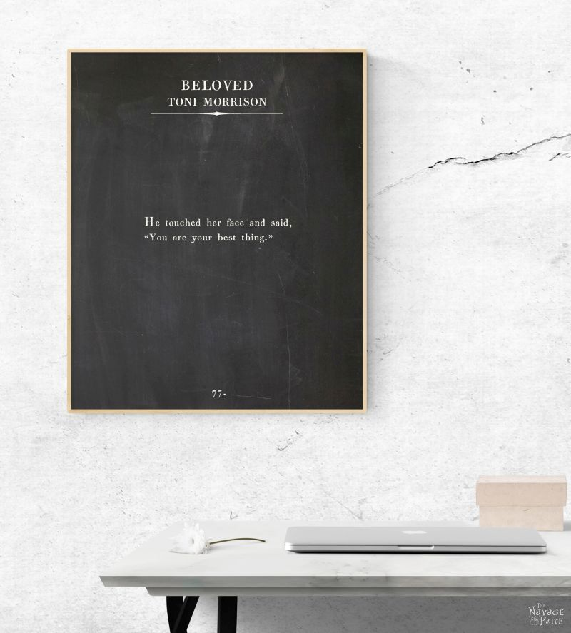 Oversize Book Page Wall Art: Women of the Word - The Navage Patch