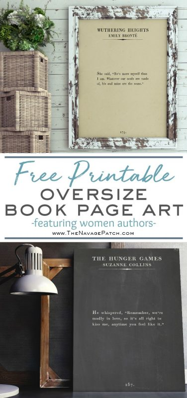 Oversize Book Page Wall Art Women Of The Word The