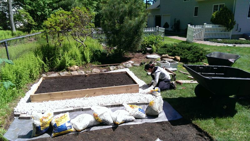 DIY Raised Garden Beds| How to build raised garden beds that will last for years | An easy step-by-step guide for cedar raised garden beds | Free raised garden bed plans | How to build a garden box | Best wood to use for garden beds | How to prepare a raised garden bed for planting | DIY container gardening | Raised garden bed ideas and garden projects | #TheNavagePatch #DIY #Garden #HowTo #FreePlans | TheNavagePatch.com